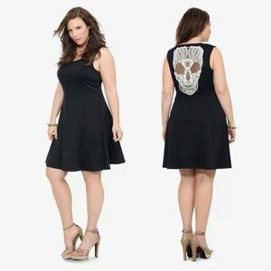 NWT Torrid Lace Skull Back Swing Dress Size 5/5X